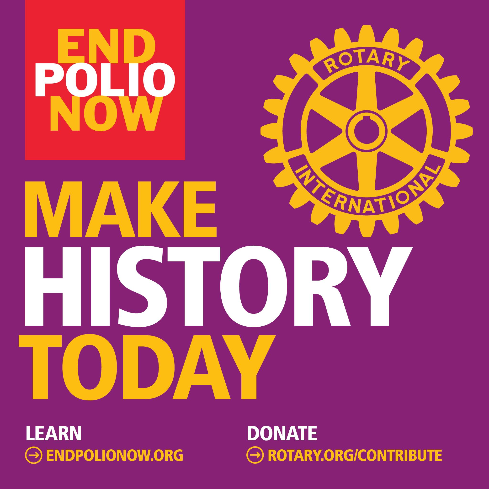 make history end polio